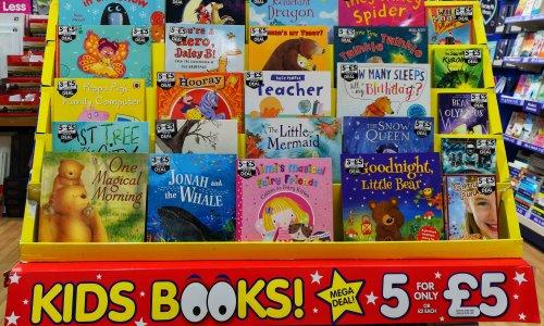 Kids Books, 5 for £5