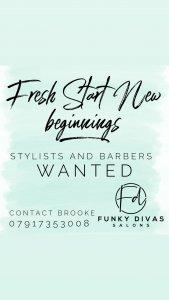 Stylists & Barbers vacancies