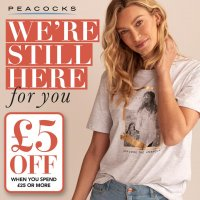 £5 off when you spend £25 or more