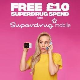 Free £10 Superdrug Spend!