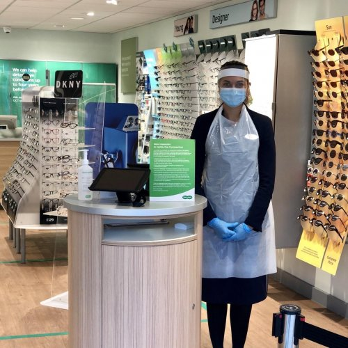 Specsavers Crystal Peaks stays open with safety front of mind