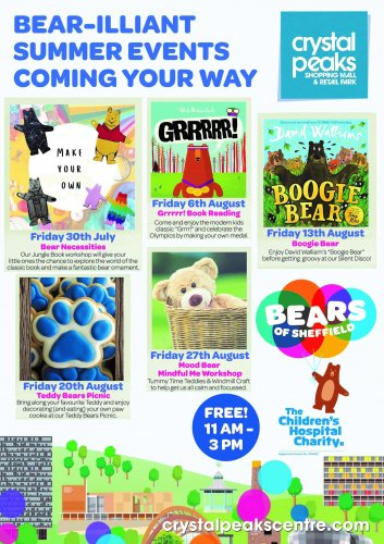 Pawsome free Bear-themed events
