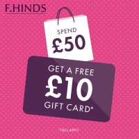 Get a free £10 gift card