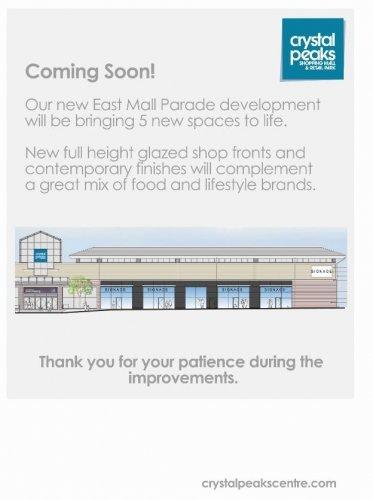Work to begin on new Crystal Peaks retail units